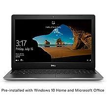 Dell Inspiron 3584 15.6-inch FHD Laptop (7th Gen Core i3-7020U/4GB/1TB HDD/Windows 10 + MS Office/Intel HD Graphics/Silver)