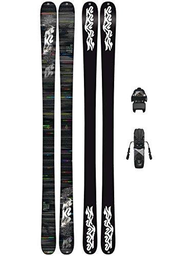 K2 Herren Ski Set Press 159 + Free Ten 85mm blk/wht