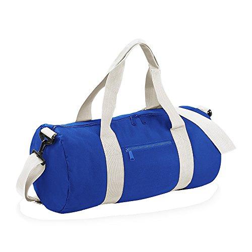 Bagbase Seesack / Reisetasche, 20 Liter One Size,Royal/Naturweiß