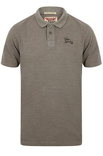 Tokyo Laundry Herren Poloshirt, Einfarbig Blau Blau Small Don - Eiffel Tower - Grey