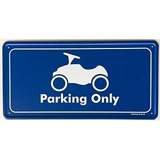 Parking Only - BOBBY-Car - Parkplatz Aluminium Schild
