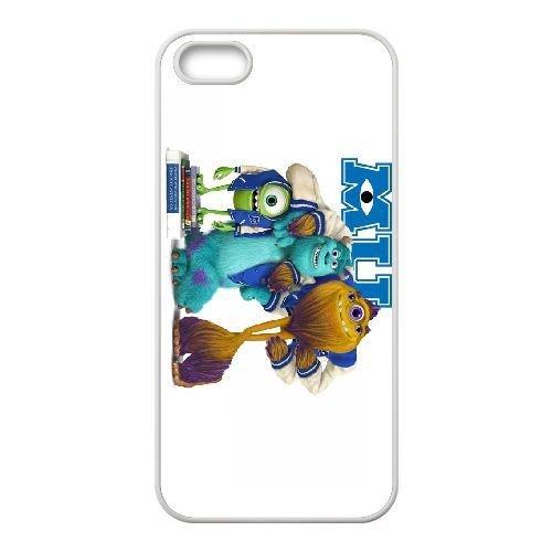 iphone5 5s White phone case Disney Cartoon Comic Series Monsters Inc QBC3078102