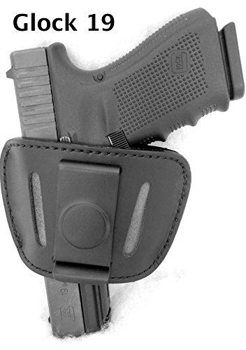 DTOM Premium Leder (nicht Synthetik) Universal IWB oder umgebauten DSLR Beidhändige Belt Slide Holster (Belt Holster Slide)