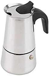 GESTIONE Coffee Percolator(or)Maker 6 Cups - (Stainless Steel)