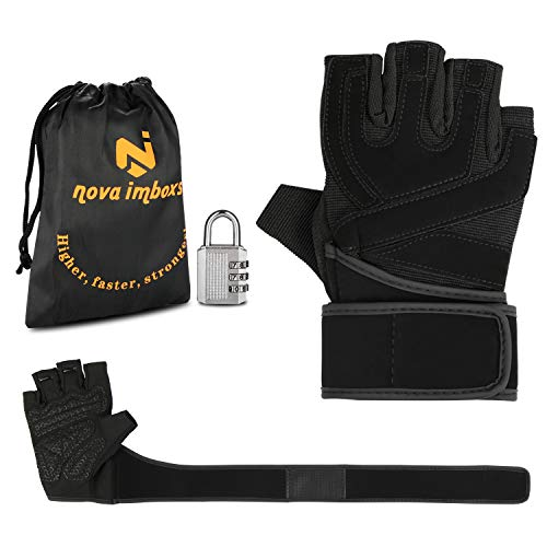 Nova ImboxsTM Guantes Gimnasio Hombres Mujeres, Guantes