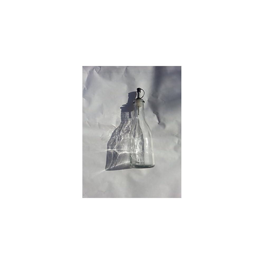 300 Ml L Essig Spender Dressing Ausgieer Glas Flasche In Der Wahl Der Deals