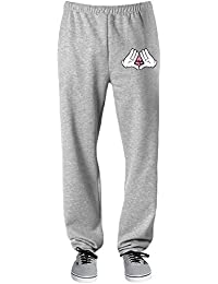 Dope Mickey Hands Triangle Illuminati Pantalones deportivos