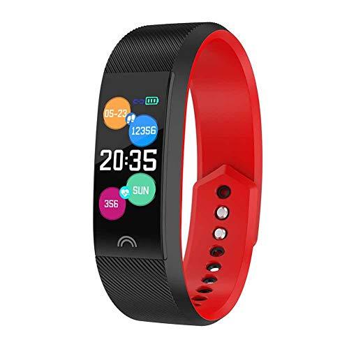 Mirabellini Fitness-Tracker, wasserdichtes IP68-Farbbildschirm-Aktivitäts-Sportarmband mit Herzfrequenz- / Blutdruckmessgerät Schrittzähler (Fitness-tracker Synchronisieren, Um Computer)