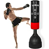 Free Standing Punch Bag 5.5ft Boxing Stand Martial Arts Fitness Kick Punching Training Dummy + Free Shipping