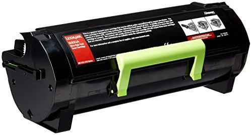 Preisvergleich Produktbild LEXMARK 500UA Toner schwarz hohe Kapazität 20.000 Seiten 1er-Pack