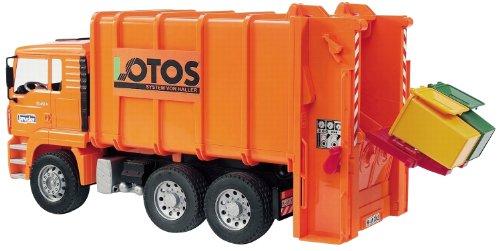 Bruder 2762 - Camión de basura MAN...