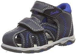 Lurchi Baby Jungen John Sneaker, Blau (Navy 22), EU