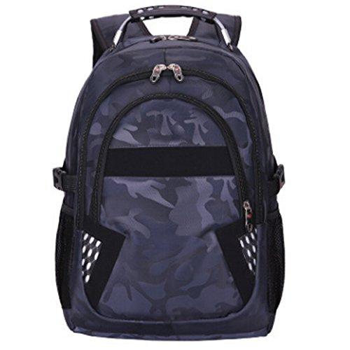 Business-Computer-Tasche Männer Und Frauen Bergsteigen Outdoor-Freizeit-Reisetasche,Gray Blue