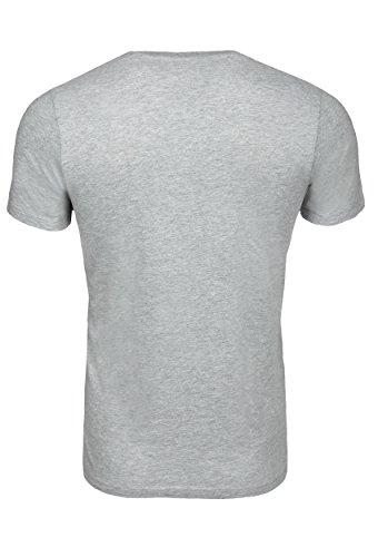 WOLDO Athletic T-Shirt Herren kurzarm Rundhals Grey