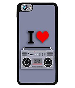 PrintVisa Designer Back Case Cover for Micromax Canvas Fire 4 A107 (Love Lovely Attitude Men Man Manly)