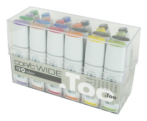 Copic Wide - Set A - 12er Set