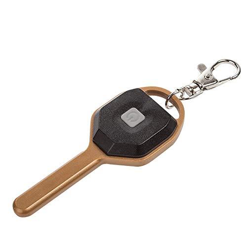 Generic Schlüsselanhänger Taylor Kelsen LED Schlüsselanhänger Taschenlampe flach mit Schlüsselring Mini LED Taschenlampen Lampe Kinder Kindertaschenlampe (Gold