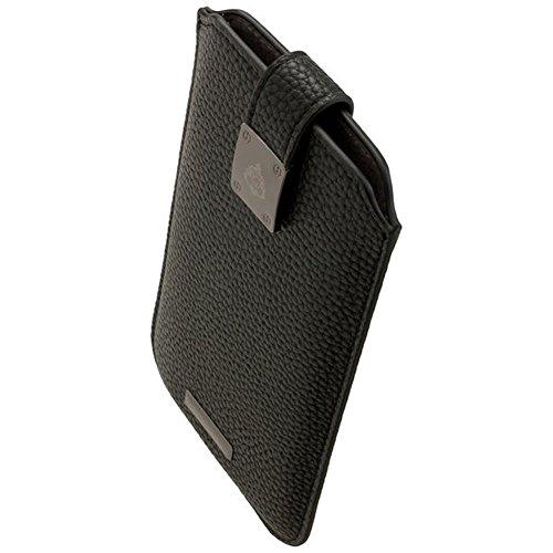 Commander Premium Tasche Milano XXL5.2 - Black für Samsung Galaxy Galaxy S6 / S6 Edge / S7 / Lumia 950 / Sony Xperia M4 Aqua / Z2 / Z3 / Z5 Lizenzprodukt + Reinigungstuch iMoBi (S5 Galaxy Für Skin Active)