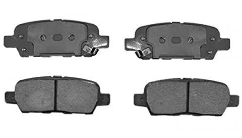 1 pièce = 4 pièce keramikbremsbeläge devant NISSAN ALTIMA, JUKE, Rogue, Sentra, X-TRAIL, 350Z 2003-2009 & INFINITI M35h, M37, M45, M56, EX35, EX37, FX35, FX37, FX45, Q50 année de construction 2014