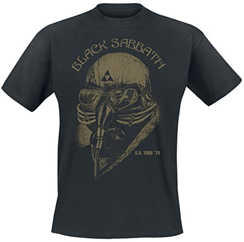 Black Sabbath U.S. Tour '78 T-Shirt schwarz S (Tour Sommer T-shirt)