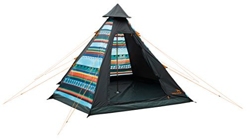 Easy-Camp-Tipi-Tent-Tribal-Colour-4-Persons-by-Easy-Camp