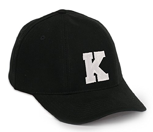 Baseball Mütze Cap Caps A-Z schwarz Snapback with Adjustable Strap Snap Back LA (K)