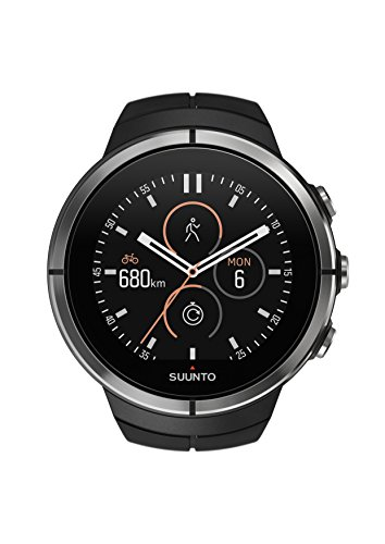 Suunto SS022659000 Spartan ULTRA Black Orologio GPS per Atletica e Multisport, Unisex, Autonomia Batteria 26h, Resistente all'acqua, Touch Screen a Colori, Nero