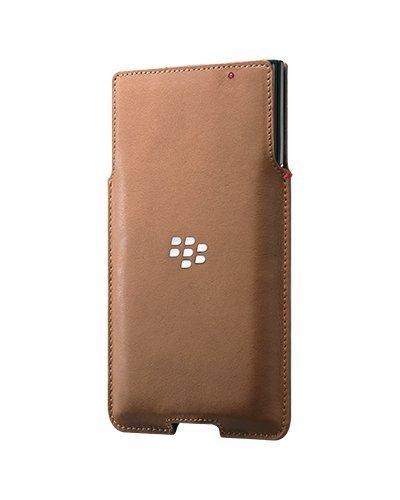 Blackberry Ledertasche für Priv braun - Blackberry Pocket Case