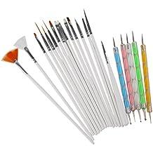 Magideal Nail Art Malerei Pinsel Nagellack Zeichnung Punktierung Pen Set 20pcs