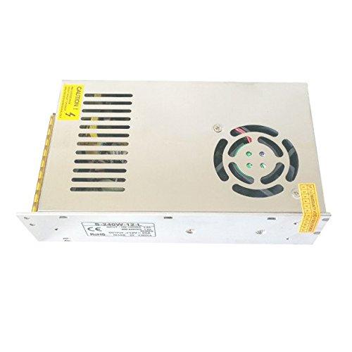 HICTOP Imprimante 3D Switching Power Supply Prusa I3 12V 20A DC Universal Réglementé 240W Sortie pour impression 3D Parts Accessoires