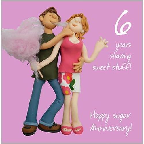 6th Wedding Anniversary Card Ideas