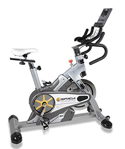 BH Fitness - Bicicleta Indoor i.spada Racing Dual + Dual Kit (Reacondicionado Certificado)