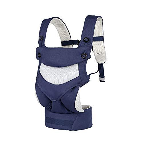 SXFYMWY Baby Carrier Rucksack vorne und hinten Multifunktions Soft Atmungsaktiv mit verstellbaren Babys Träger Taille Hocker (Mit Baby-puppen Trägern)
