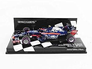 Minichamps 417171828 - Coche en Miniatura de colección, Color Azul y Rojo
