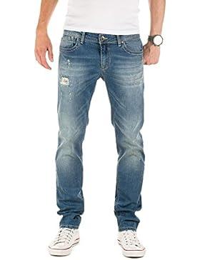 WOTEGA Herren Jeans Pete Destroyed slim