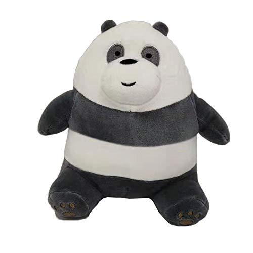 We Bare Bears Sitting Panda Bear Plush 20 cm