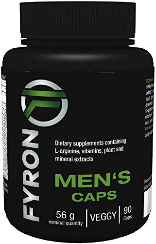 FYRON MENs - Fruchtbarkeit | Testosteronspiegel | Sperma - 90 Kapseln (Yohimbe Sex)