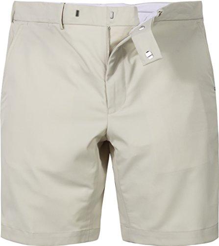 Ralph Lauren Golf Herren Bermuda-Shorts Mikrofaser/Funktion Kurze Hose Unifarben, Größe: 35, Farbe: Beige