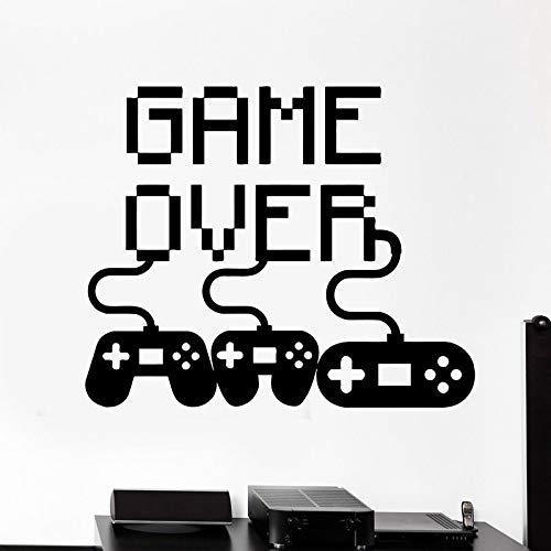 Jiushivr Video Game Gamer Decal Sticker Gaming Poster