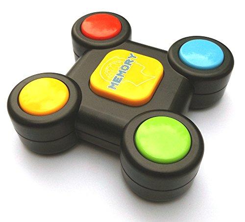 Memory Buzzer mit Licht & Sound, Memory Lernspielzeug für Kleinkinder, Motorik Spielzeug