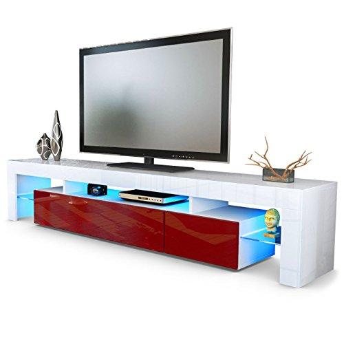 meuble-tv-bas-armoire-basse-lima-v2-en-blanc-bordeaux-en-haute-brillance