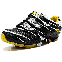 Zapatillas De Ciclismo para Hombres Caminando En Carretera Ligeras Zapatillas De Montaña Al Aire Libre Zapatillas