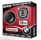 BMW 3SERIE E36hinten Seite Regal Lautsprecher Pioneer 10,2cm 10cm Auto-Lautsprecher-Set 190W