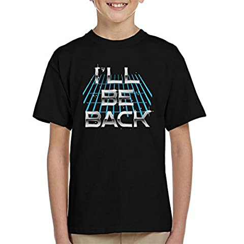 Ill Be Back Terminator Quote Kid's T-Shirt