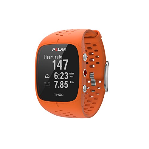 Polar M430 Laufuhr, orange, M/L -