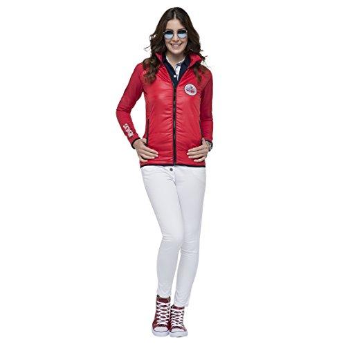 Nebulus Damen Trainingsjacke Rot