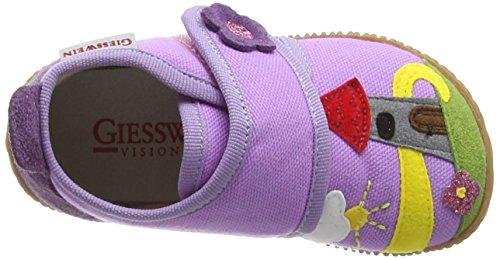 Giesswein Scheinfeld, Chaussons montants Doublé Chaud fille Violet (306 Fuchsia)