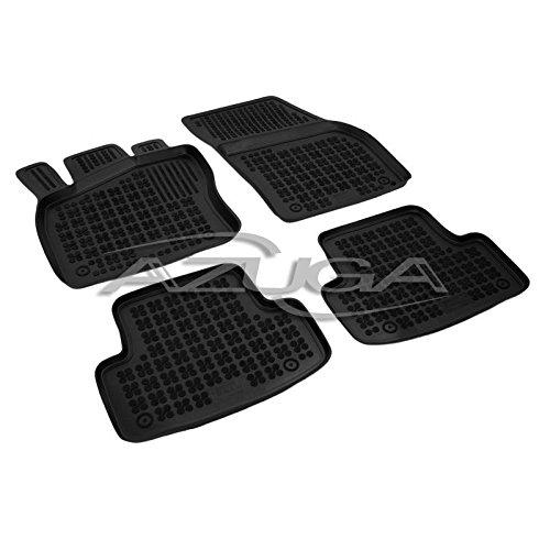 Preisvergleich Produktbild Fußmatten für Auto aus Gummi auf Maßnahme A Ablagekorb 4cm–Fußmatten Rutschfest 10300318