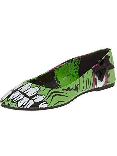 Chaussures Femme Iron Fist Zombie Stomper Flat Vert green