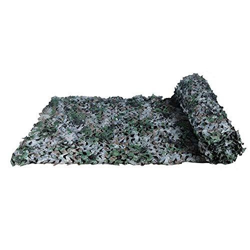 DYFYMXParasol Filet de camouflage pour enfants, filet de camouflage forestier camping tente de pêche extérieure (Couleur : A, taille : 2 * 3M(6.6 * 9.8ft))